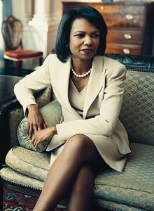 Condoleezza Rice - stil vestimentar clasic