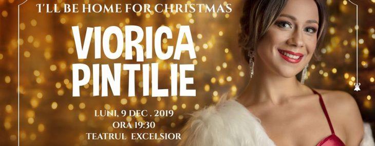 """Viorica Pintilie – a treia ediție a Concertului de Crăciun  """"I'll be home for Christmas"""""""